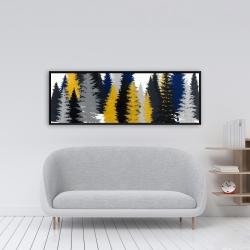 Framed 16 x 48 - Golden fir