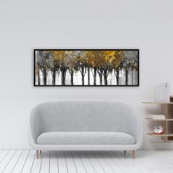 Framed 16 x 48 - Illuminated forest