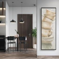 Framed 16 x 48 - Coffee mugs