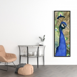 Framed 16 x 48 - Peacock