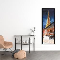 Framed 16 x 48 - Illuminated paris