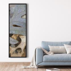 Framed 20 x 60 - Autumn leaves