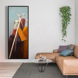 Framed 20 x 60 - Summer drinks