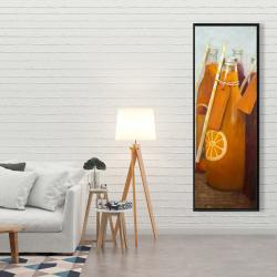 Framed 20 x 60 - Orange summer drinks