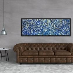 Framed 20 x 60 - Leaves patterns