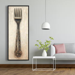 Framed 20 x 60 - Vintage fork