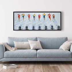 Framed 20 x 60 - Race of 10 meters