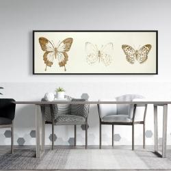 Framed 20 x 60 - Butterflies sketch