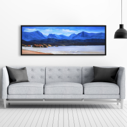 Framed 20 x 60 - Scotland calm eddies