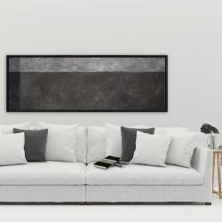 Framed 20 x 60 - Shades of gray