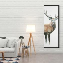 Framed 20 x 60 - Deer