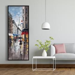 Framed 20 x 60 - Paris street