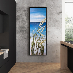 Framed 20 x 60 - Wild herbs on the beach