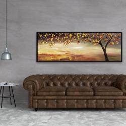 Framed 20 x 60 - Fall tree