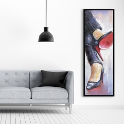 Framed 20 x 60 - Crossed legs and high heels