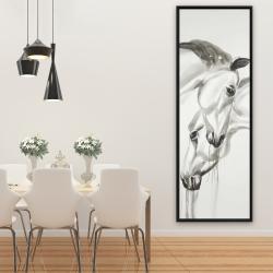 Framed 20 x 60 - Inseparables