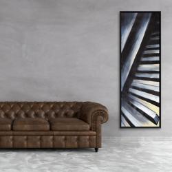 Framed 20 x 60 - Piano keys