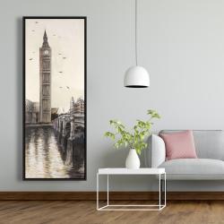 Framed 20 x 60 - Big ben in london