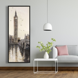 Framed 20 x 60 - Big ben in london