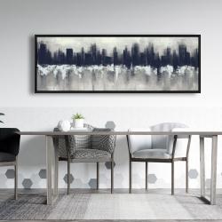 Framed 20 x 60 - Dark city