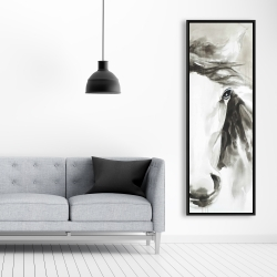 Framed 20 x 60 - Beautiful abstract horse