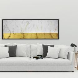 Framed 20 x 60 - Golden shine
