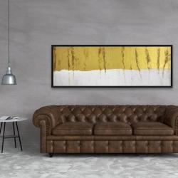 Framed 20 x 60 - Golden stripe