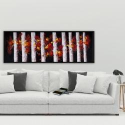 Encadré 20 x 60 - Arbres et feuilles d'automne