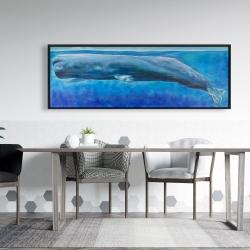 Framed 20 x 60 - Sperm whale