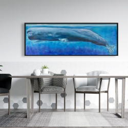 Framed 20 x 60 - Sperm whale