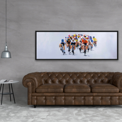 Framed 20 x 60 - Cycling competition