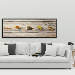Framed 20 x 60 - Fishing flies