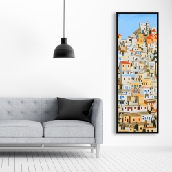 Framed 20 x 60 - Small houses in greece