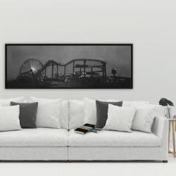 Framed 20 x 60 - Amusement park