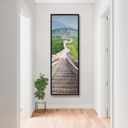 Framed 20 x 60 - Great wall of mutianyu