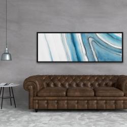 Framed 20 x 60 - Round geode