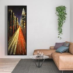 Framed 20 x 60 - Lively city
