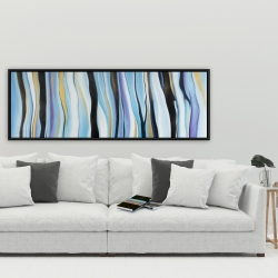 Framed 20 x 60 - Blue mood