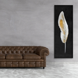 Framed 20 x 60 - Feather