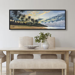 Framed 20 x 60 - Tropical summer moments
