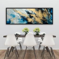 Framed 20 x 60 - Blue marble