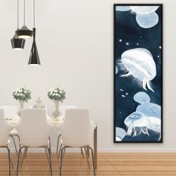Framed 20 x 60 - Jellyfishs
