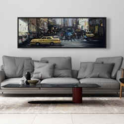 Framed 20 x 60 - In the city