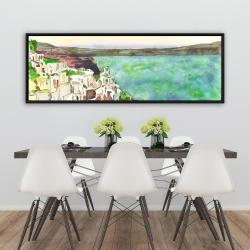 Framed 20 x 60 - Landscape of crete