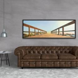 Framed 20 x 60 - Footbridge