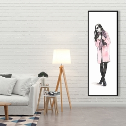 Framed 20 x 60 - Woman spring look