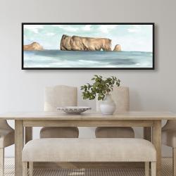 Framed 20 x 60 - Rocher percé