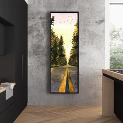 Framed 20 x 60 - Long road