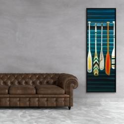 Framed 20 x 60 - Paddles