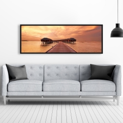 Framed 20 x 60 - Sea villas